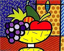 Romero Britto 'Eunice's Fruit'