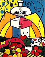 Romero Britto 'Absolut Vodka'