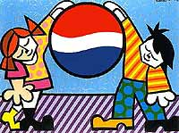Romero Britto 'Pepsi-New Generation'