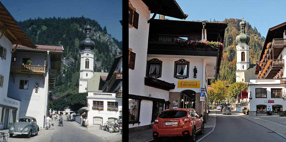 Reit im Winkl - then and now!