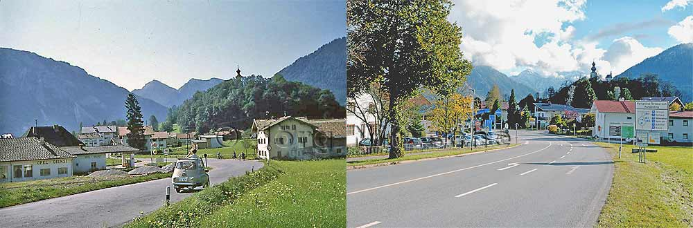 Ruhpolding - then and now!