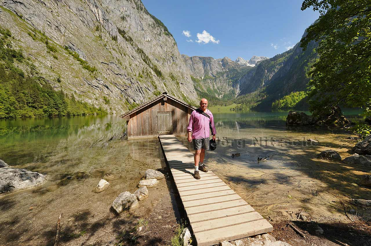 View on and over the Obersee.